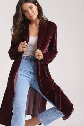 Bella Dahl Side Slit Coat