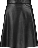 Muu Baa Muubaa Pannala leather mini skirt