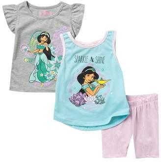HAPPY THREADS Jasmine 3-Piece Set (Toddler & Little Girls)