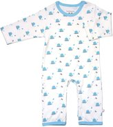Baby Soy Organic Pattern One Piece (Baby) - Whale-12-18 Months