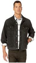 Levi's Premium The Virgil Trucker (V. Black) Men's Clothing