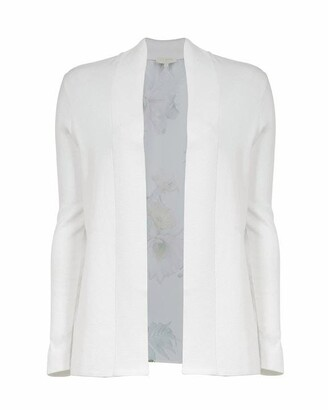 Ted Baker Katiiey Woodland Woven Back Cardigan