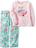 Carter's Baby Girls' 2-Pc. Goodnight Fox Pajama Set
