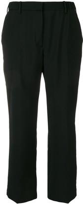 No.21 Rhinestone-Embellished Trousers