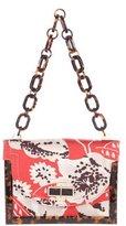 Tory Burch Floral Print Shoulder Bag
