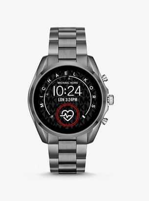 Michael Kors Gen 5 Bradshaw Gunmetal-Tone Smartwatch