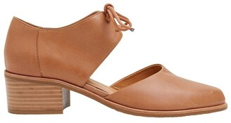 Jane Debster Exhibit Tan Glove Heeled Shoes