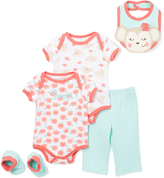Buster Brown Beach Glass & Salmon Rose Layette Set - Infant