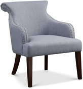 Tinsley Fabric Accent Chair, Quick Ship