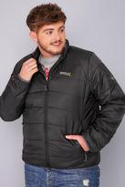 Yours Clothing REGATTA Black Icebound Jacket