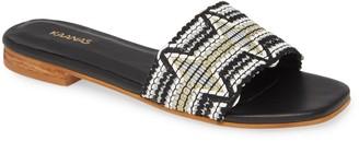 Kaanas Multicolor Slide Sandal