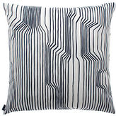 Marimekko Frekvenssi Decorative Pillow-WHITE & BLACK