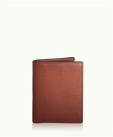 GiGi New York Card Case with ID Holder Brown Vachetta Leather