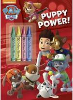 Paw Patrol Puppy Power! Coloring Book with Crayons (Paperback) by Golden Book
