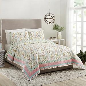 Dena Home Sonnet Cotton Quilt Set, Full/Queen