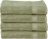 Ringspun Cotton Large Hand Towels (Sage Green, 4-Pack,16 x 28 inches) - Multipurpose Use for Bath, Hand, Face, Gym and Spa- By Utopia Towels