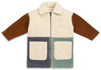 Stella McCartney Kids Patchwork Teddy Coat (3-14 Years)