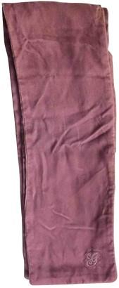 Gucci Pink Velvet Scarves