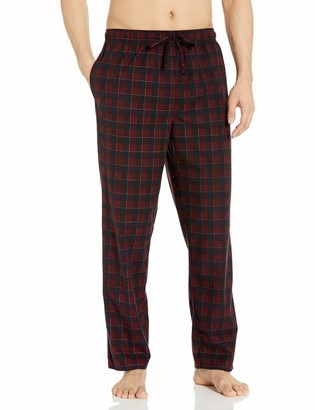 Nautica Men's Cozy Fleece Plaid Pajama Pant