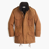 J.Crew Wallace & Barnes waxed cotton M-65 jacket