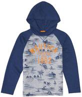 Nautica Little Boys' Palm Print Hoodie (2T-7)