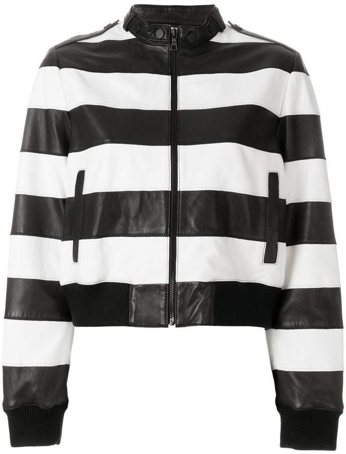 Alice + Olivia Alice+Olivia striped jacket