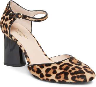 Kate Spade Serene Leopard Block-Heel Pumps
