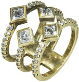 Nicole Miller Pyramid Quad Ring