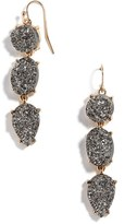 BaubleBar Women's Mieko Drusy Drop Earrings