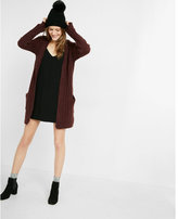 Express hooded knee-length cover-up