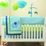 Pam Grace Creations Zig Zag Elephant Crib Bedding Collection