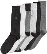 Perry Ellis Men's 6-Pk. Pin-Dot Performance Dress Socks