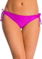 Ella Moss Stella Solid Tunnel Tie Side Bikini Bottom 8143107