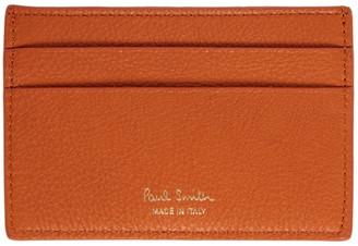 Paul Smith Orange Stripe Card Holder