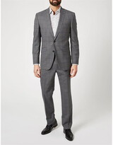 Simon Carter Large Highlight Check Grant Suit Jacket