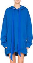 Givenchy Oversized Hooded Sweatshirt w/ Logo