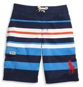 Ralph Lauren Toddler's, Little Boy's, & Boy's Kailua Striped Swim Trunks