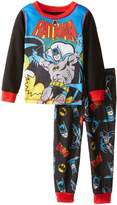 "Batman Little Boys' Toddler ""Rope Swing"" 2-Piece Pajamas"