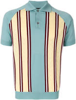 Prada striped polo shirt