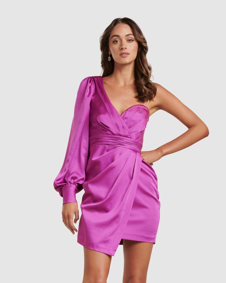 Forever New Monica One Sleeve Mini Dress