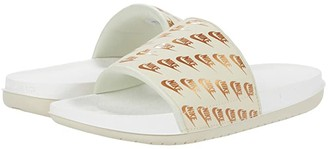 Nike OffCourt Slide (Anthracite/Metallic Gold/Black) Women's Sandals