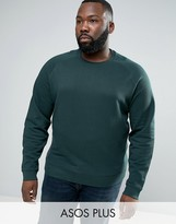 Asos PLUS Sweatshirt In Green