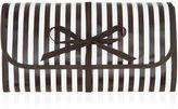 Henri Bendel Brown & White Hanging Cosmetic Case