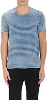 Barneys New York MEN'S STRIPED COTTON T-SHIRT