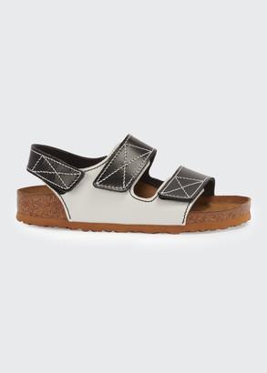 Birkenstock x Proenza Schouler Milano Two-Tone Slingback Sandals