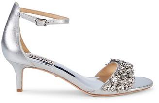 Badgley Mischka Lara Leather Sandals