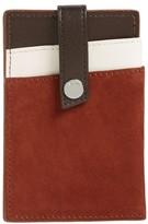 WANT Les Essentiels Men's Kennedy Leather Money Clip Card Case - Brown