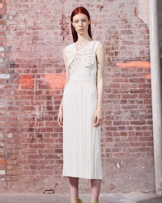 Jason Wu Crinkled Satin Day Dress