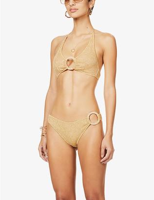 Oseree Microkini Ring high-rise bikini set