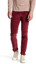 Levi's Levi&s 511 Slim Fit Merlot Rinsed Corduroy Pant